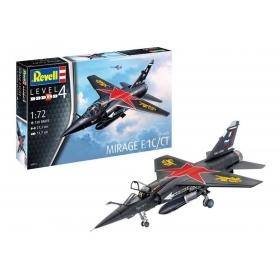 Kit Mirage F.1C/CT Dassault, Esc 1/72