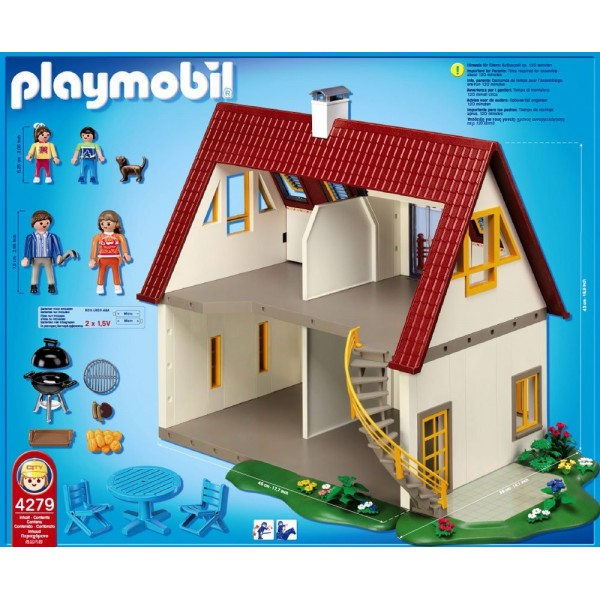 Playmobil nova casa residencial bazar paris for 4279 playmobil