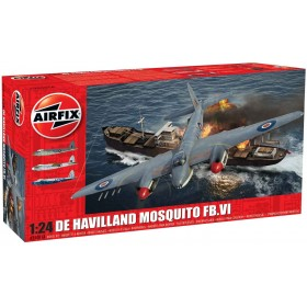 Kit De Havilland Mosquito FBVI, esc 1:24