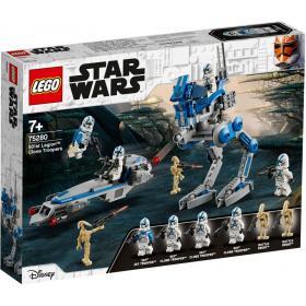 Lego StarWars,Soldados Clones 501st Legion