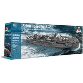 Kit Schnellboot Typ S-38, Esc 1/35