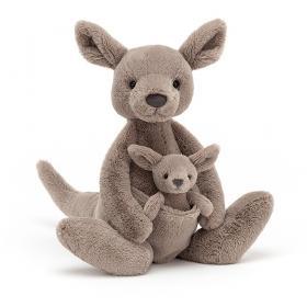 Peluche JellyCat, kanguru 37cm